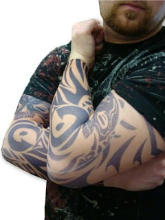 Tattoo Sleeves - Vodoo Spider Pair of Tattoo Sleeves