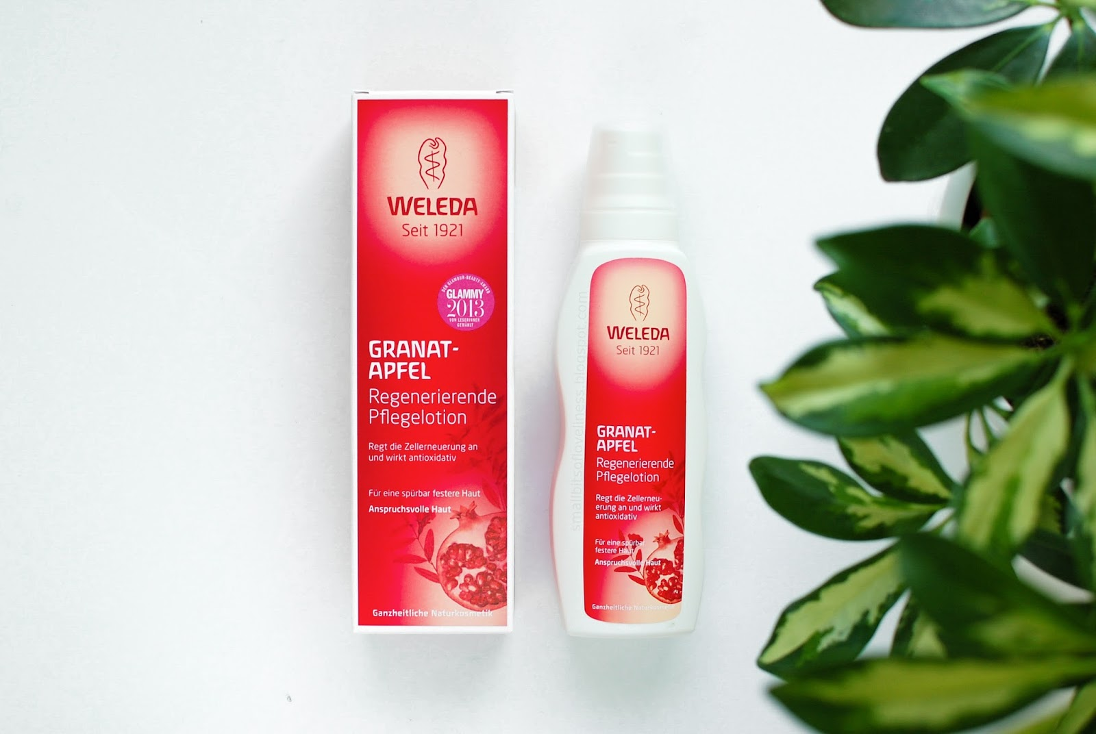 Weleda Pomegranate Regenerating Body Lotion for dry mature skin