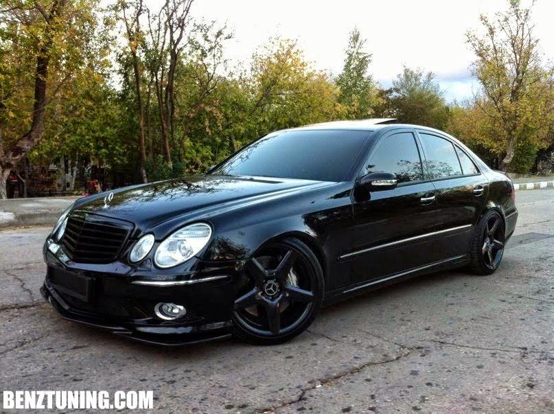 Mercedes benz w211 shadowline benztuning for Mercedes benz e350 black