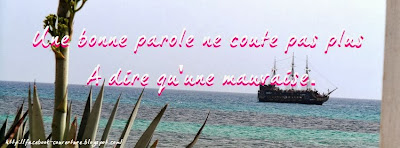 Photo de couverture facebook proverbe
