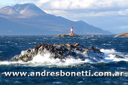 Faro Les Eclaireurs - Les Eclaireurs Lighthouse - Ushuaia - Patagonia - Andrés Bonetti
