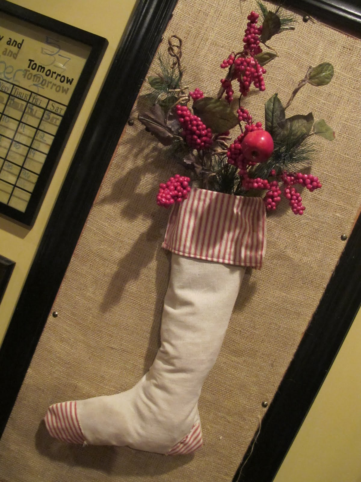 The Picadilly Post Homemade Stocking