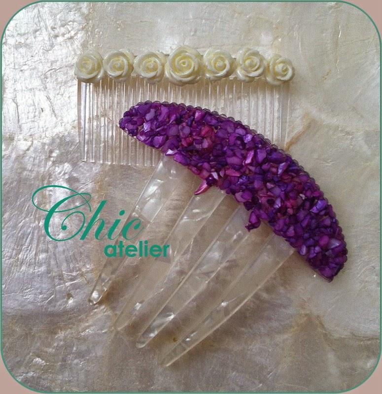 Peinetas y peinecillos de moda flamenca hecho a mano