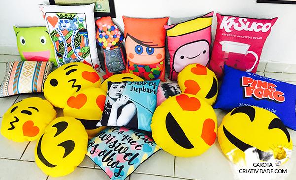 atelier wesley felicio. paty pegorin, almofadas, personalizadas, criatividade, produtos criativos, tua filomena, empreendedorismo, marketing digital, paty pegorin