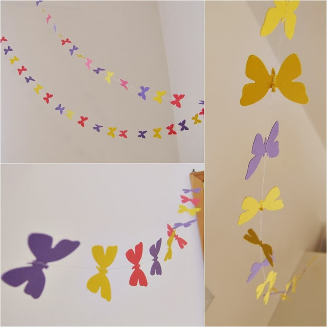 motýlí girlanda