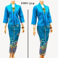 Baju Batik Muslim Gamis