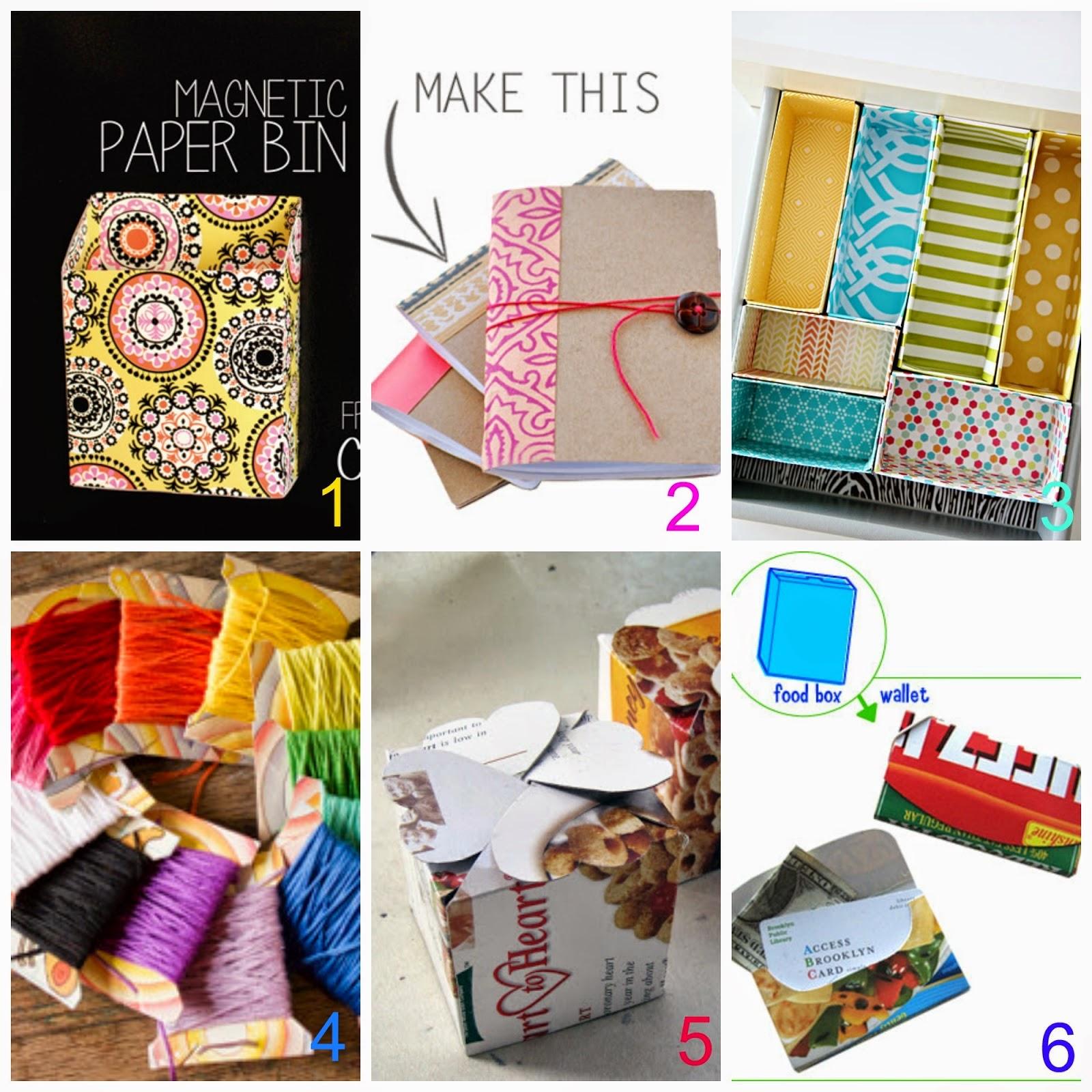 Riciclo scatole e cartoni 40 tutorial donneinpink magazine - Riciclare scatole ...