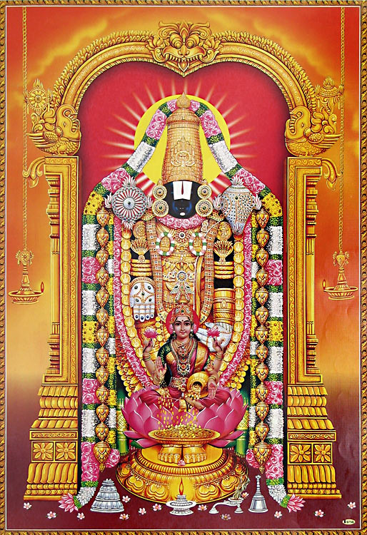 Hindu Devotional Lord Venkateswara Pictures Photos Download