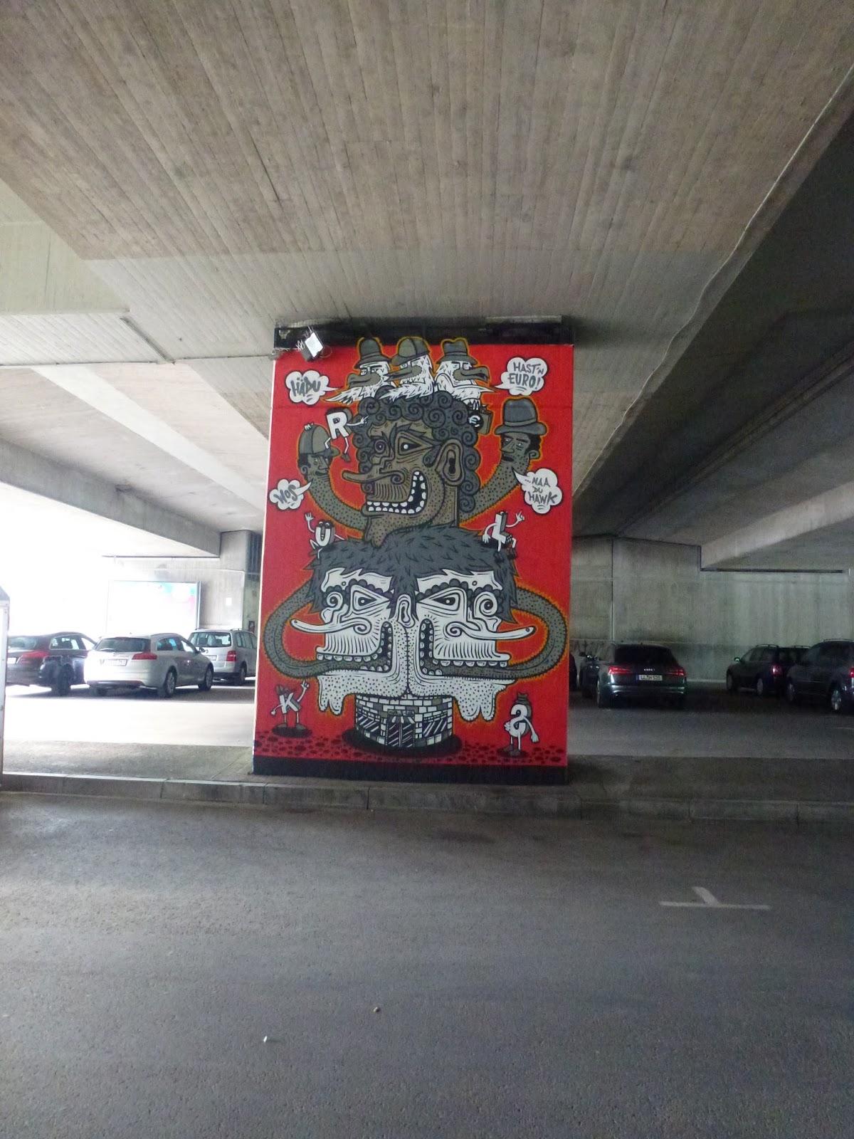 streetart und urbane kommunikation in m nchen k rls unter der donnersbergerbr cke. Black Bedroom Furniture Sets. Home Design Ideas
