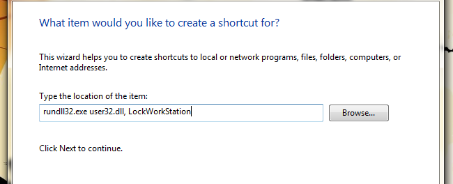 Cara Membuat Shortcut Lock Screen pada Windows 7 atau Vista