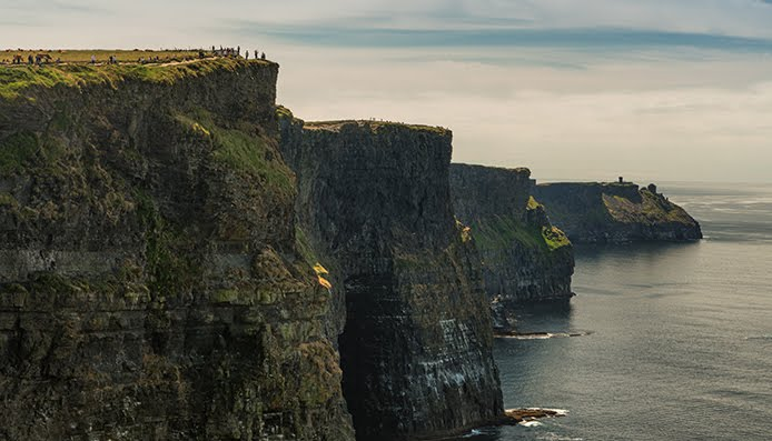Famous Cliffs of Moher. West coast of Ireland