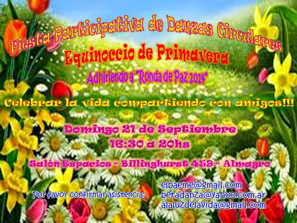 FIESTA PARTICIPATIVA DE DANZAS CIRCULARES