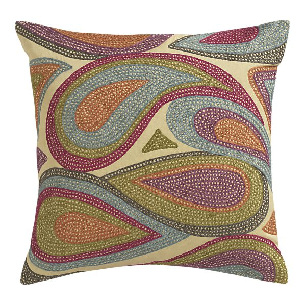 Crate And Barrel Decorative Pillow Cases : Gems & Geodes: Updating with Cushions