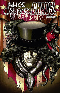 Cover of Alice Cooper vs Chaos! #2 from Dynamite Entertainment
