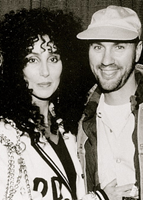 Cher with Desmond Child