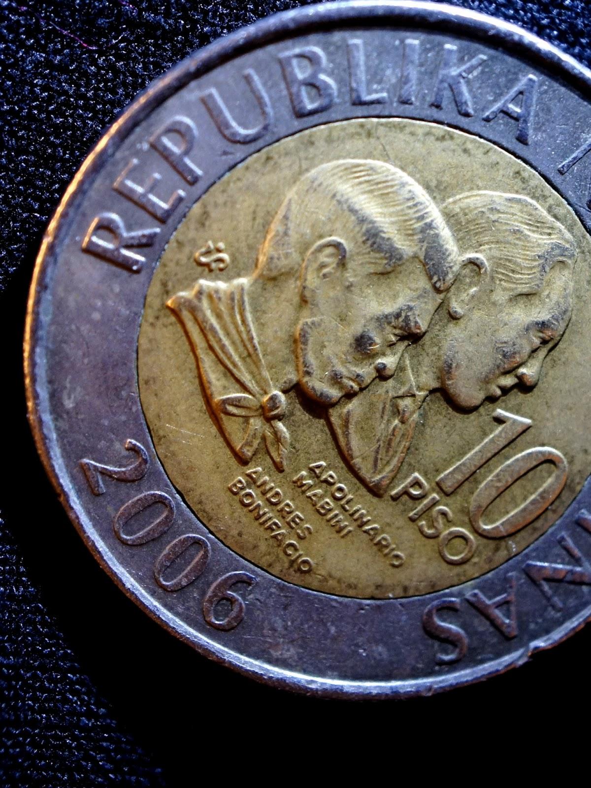 Philippine 10 peso coin
