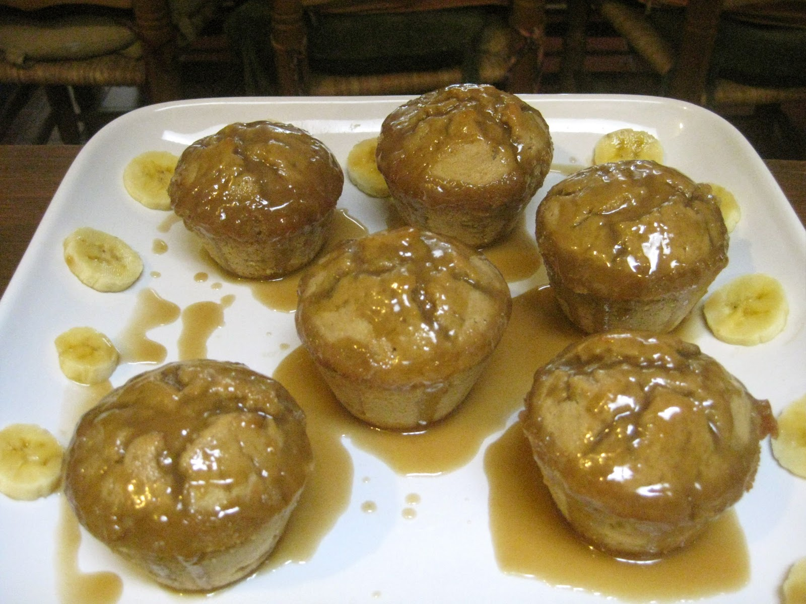 Sticky Toffee Banana Pudding Cakes (the cooks chose to add a few ...