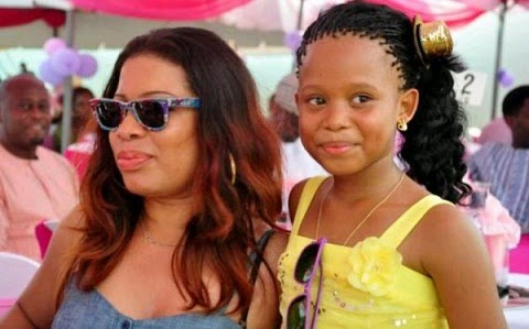 Interesting! Video of Monalisa Chinda' Daughter Singing her Self Compsed Song  chiomaandy.com