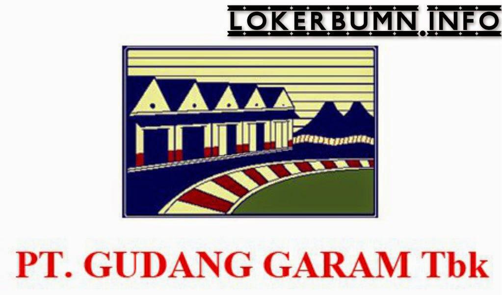 Lowongan Kerja PT Gudang Garam Surabaya