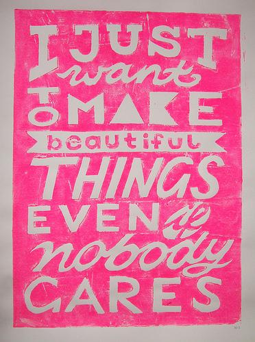 Make Beautiful Things Print on Flickr: Katrin Eiermann