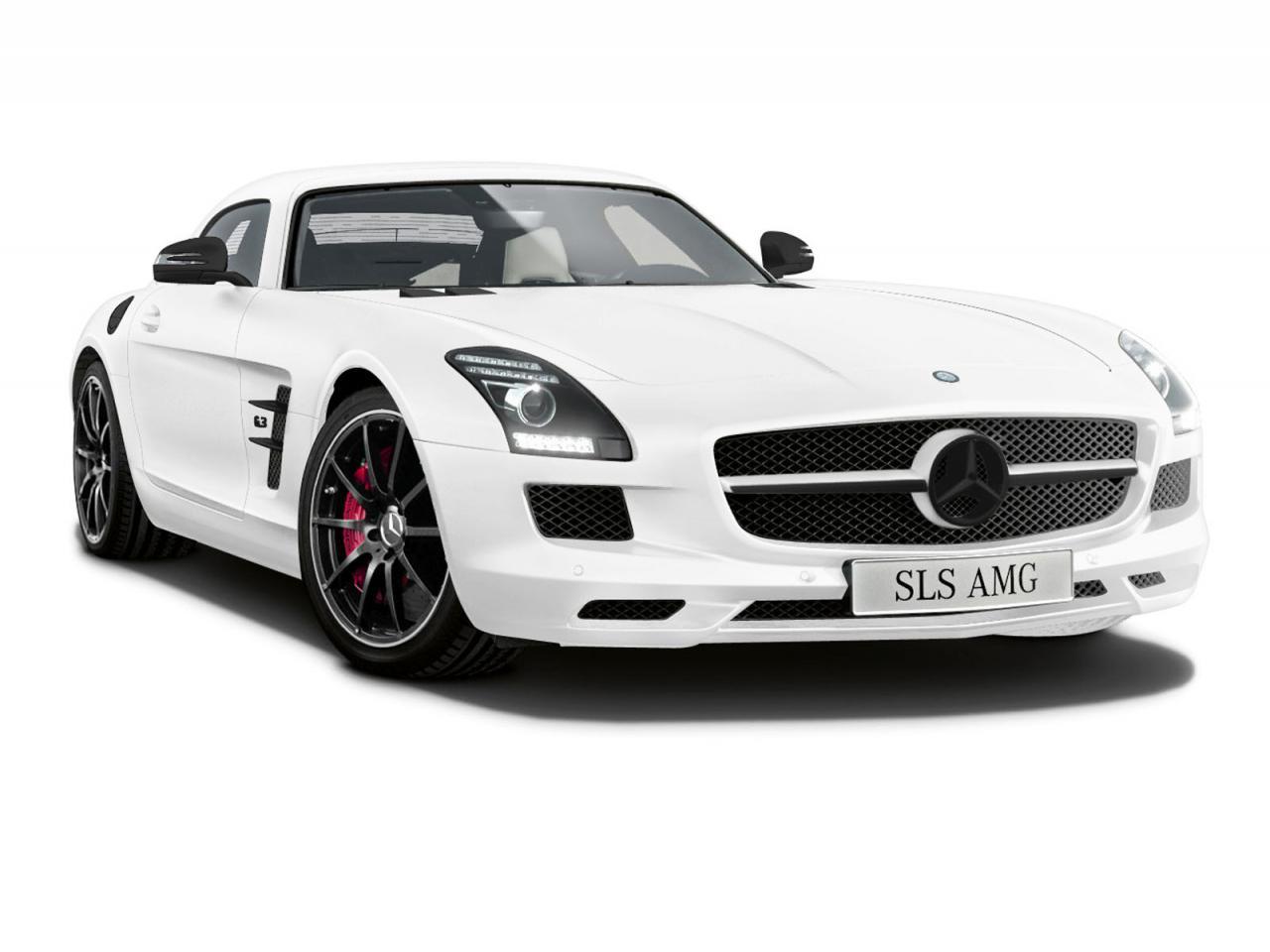 Mercedes SLS AMG Matte Edition