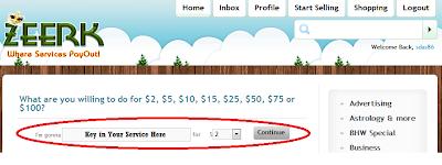 make extra money online using zeerk