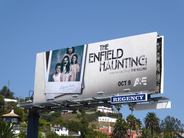The Enfield Haunting TV miniseries billboard