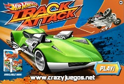 Jugar Hot Wheels Track Attack
