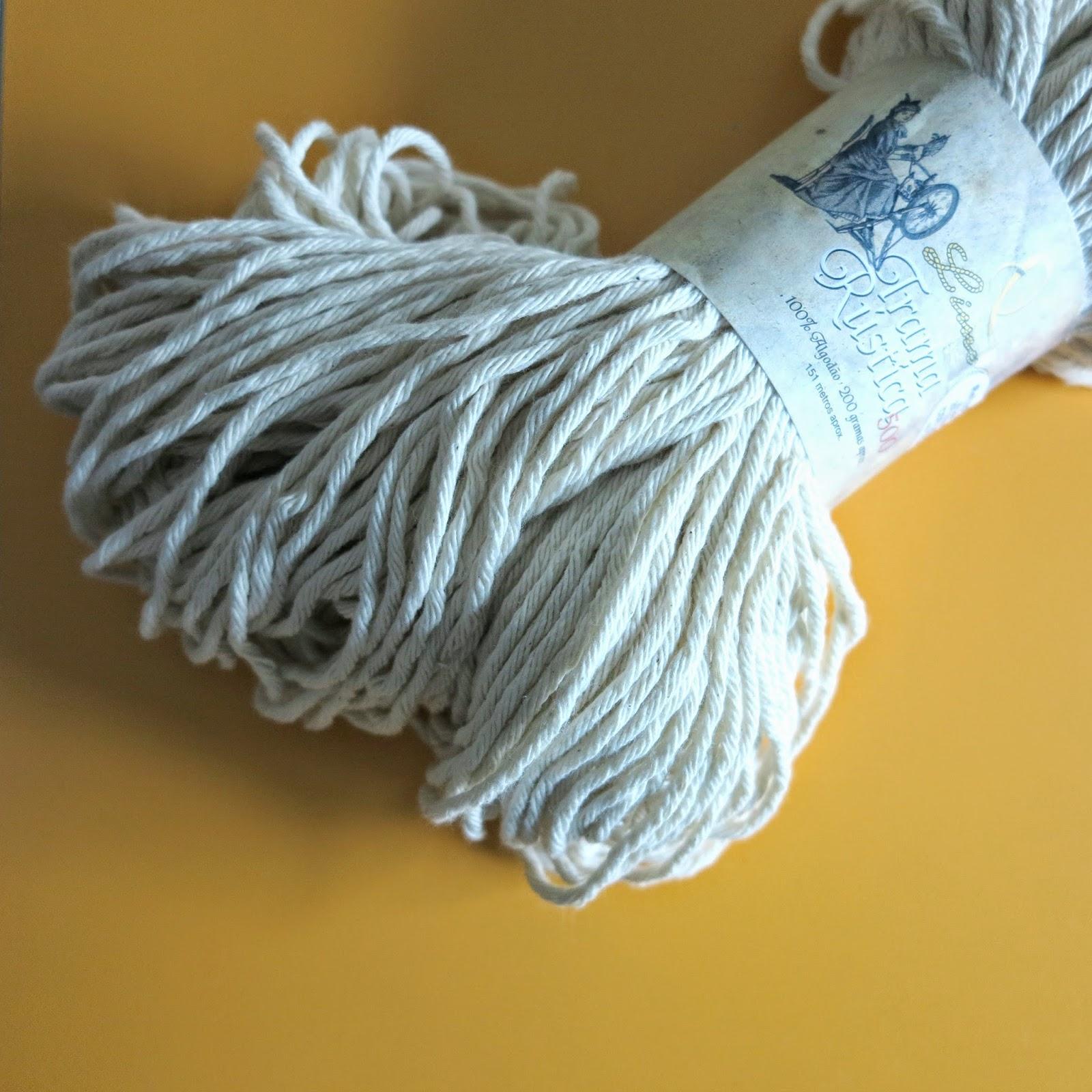 ByHaafner, Portuguese cotton yarn, Trama Rustica