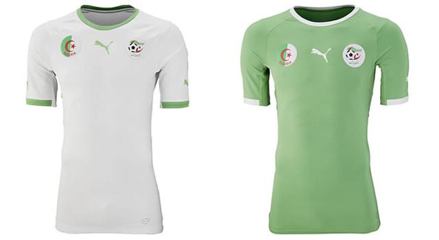 Camisetas selección Argelia Mundial 2014