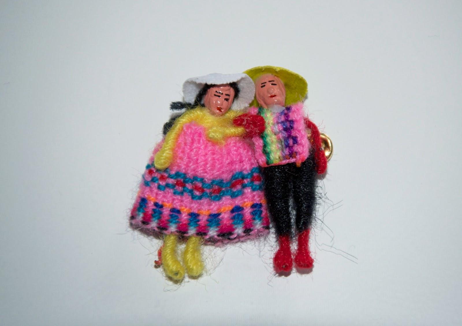 Peruvian wedding souvenier