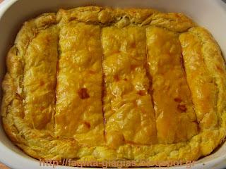 Πίτα με το Πασχαλινό αρνί που μας περίσσεψε