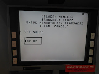 Pilih Menu Top Up