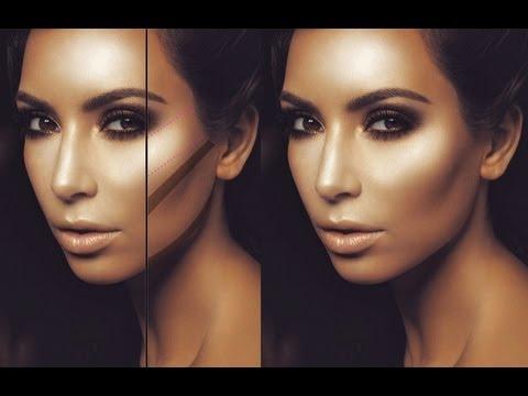 Le blog de fatima comment faire la magic line de kim kardashian - Comment faire le maquillage de kim kardashian ...