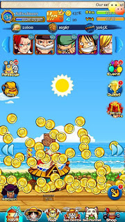Screenshots of the Pirates king: Strawhat pirates for Android tablet, phone.