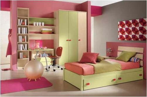 Cool Modern Teen Girl Bedrooms on color schemes for teenage girls bedroom