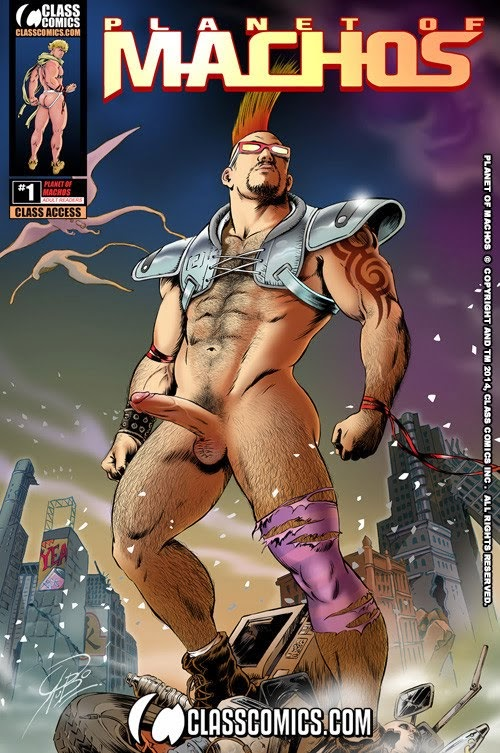 Planet of Machos Nº1