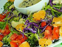 Salada Maravilhosa (vegana)
