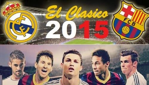 Watch Barcelona vs Real Madrid El Clasico Live Streaming 21-3-2015