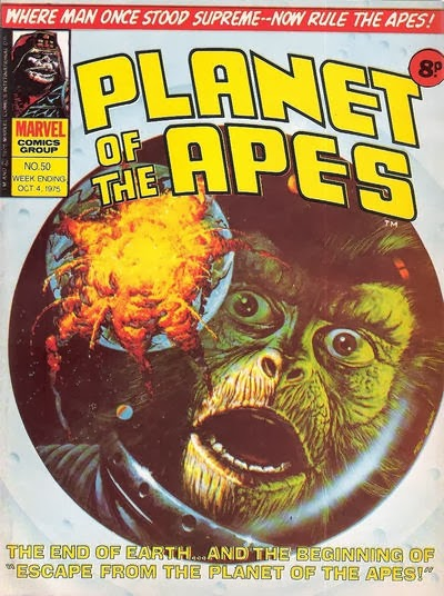 Marvel UK Planet of the Apes #50