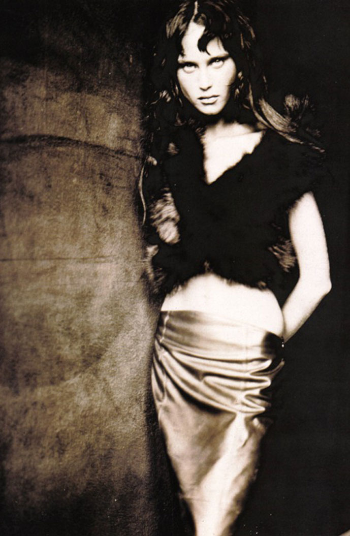 Natalia Semanova for Plein Sud | Vogue Italia September 1998 (photography: Paolo Roversi)