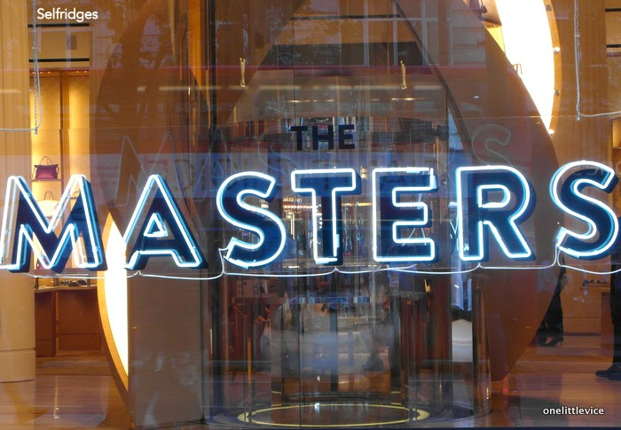 the masters neon lights
