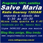 Escute o Programa Salve Maria.