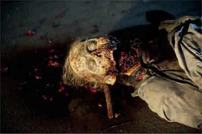 The Walking Dead S04E05. Internment twd zombie