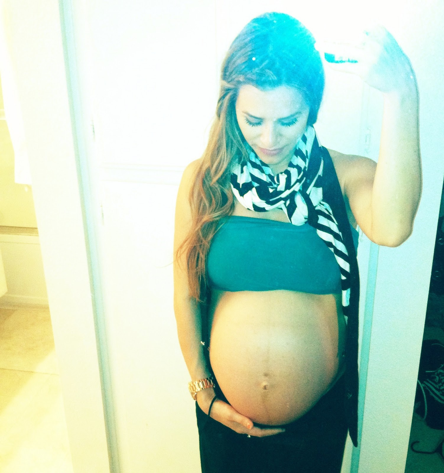 Oh my goodness..this belly has POPPED!!!