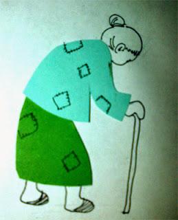 Malin Kundang malu dengan keadaan ibunya yang tua renta dan compang-camping