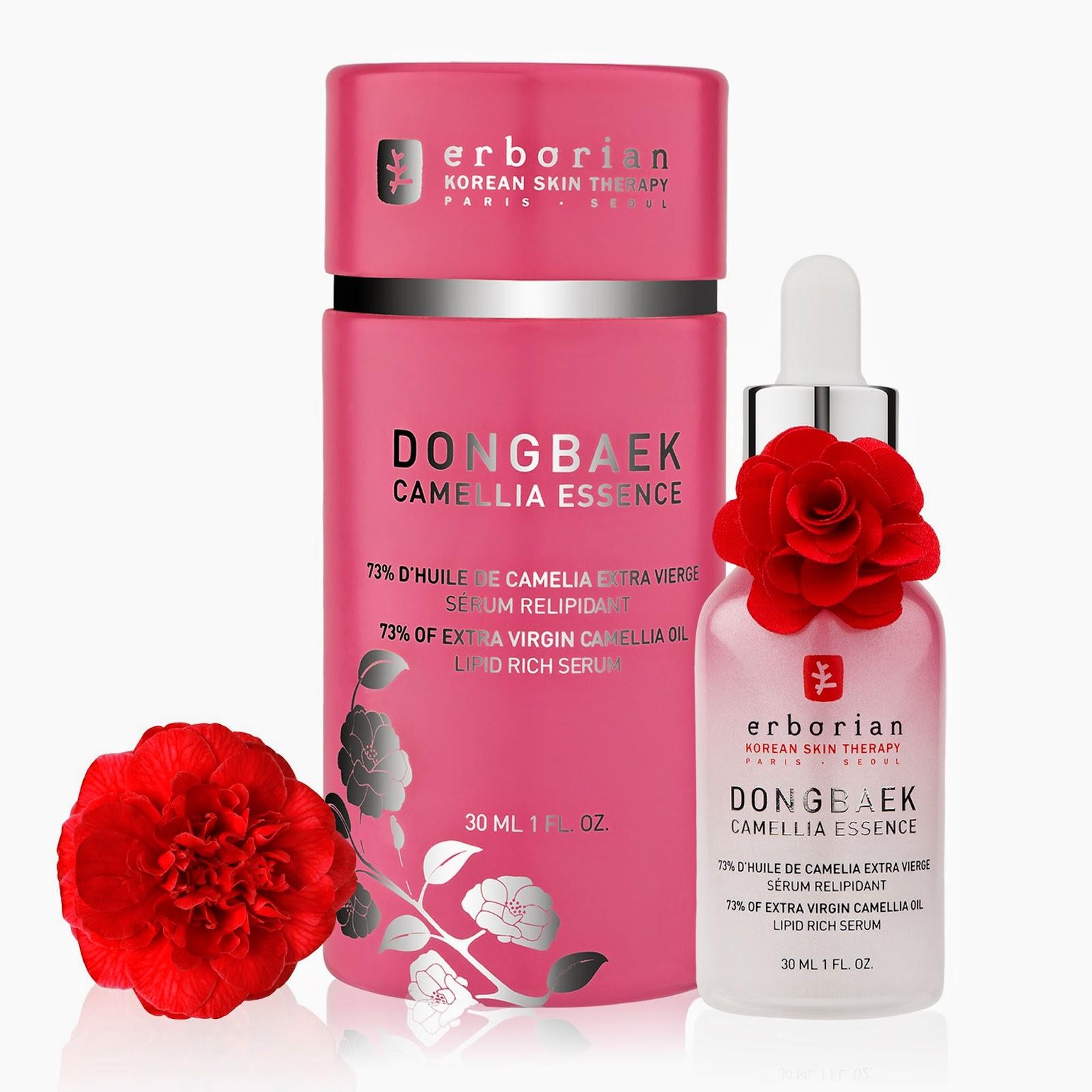 Dongbaek Camellia Essence - Erborian Sephora