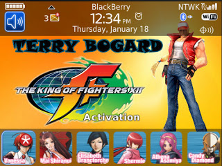 Theme Name : Blackberry Bold 9700 Free King of Fighters 2 Theme