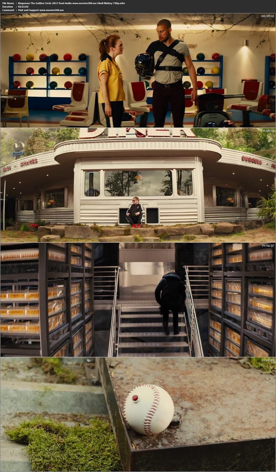 Kingsman The Golden Circle 2017 Dual Audio Hindi BluRay 720p 1.4GB at freedomcopy.com