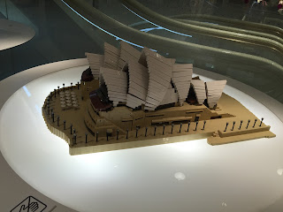 LEGO Sydney Opera House side